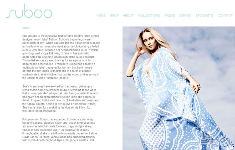 Suboo ~ Brand Profile
