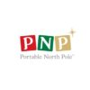 portable north pole logo app marketing toys