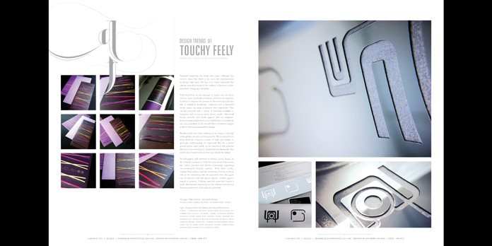 Justus Magazine ~ Design Industry Article