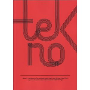 TEKNO poetry book by Klaus Kinski and Pigelle